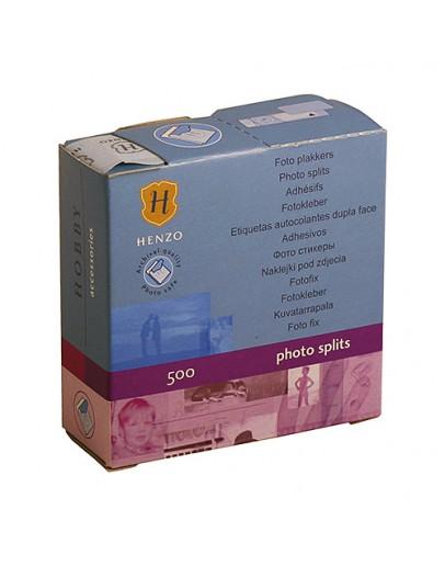 Фотоскотч Henzo 18.301 для крепления фотографий в классические фотоальбомы, 500 шт