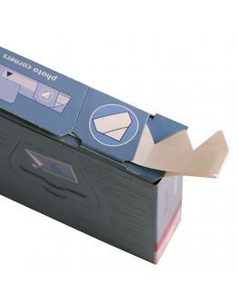Фотоуголки Henzo 18.312 для крепления фотографий в классические фотоальбомы, 500 шт