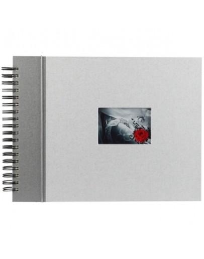 Фотоальбом Image Art SP20/W002, 40 страниц 25х33 см, магнитный, на кольцах