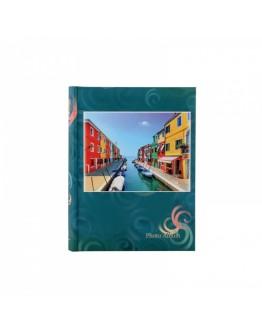 Фотоальбом MPA 21325, 200 фото 10х15 см, книжный переплет, с полями для записей
