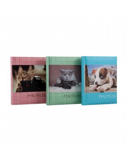 Фотоальбом MPA 22325, 200 фото 10х15 см, книжный переплет, место для записей