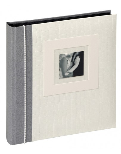Фотоальбом Walther FA-117, 60 страниц 28х30,5 см, книжный переплет, черные листы