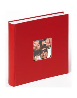 Фотоальбом Walther FA-208-R, 100 страниц 30х30 см, книжный переплет, белые станицы