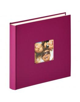 Фотоальбом Walther FA-208-Y, 100 страниц 30х30 см, книжный переплет, белые станицы
