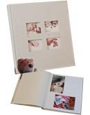 Фотоальбом Walther UK-273, 60 страниц 28х30.5 см, книжный переплет, белые станицы