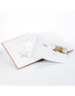 Фотоальбом Walther UK-133-R, 50 стр 28х30.5 см, белые листы с пергаментом