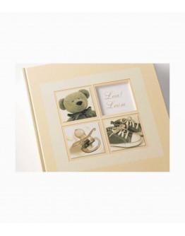 Фотоальбом Walther UK-174, 60 страниц 28х30.5 см, книжный переплет, белые станицы