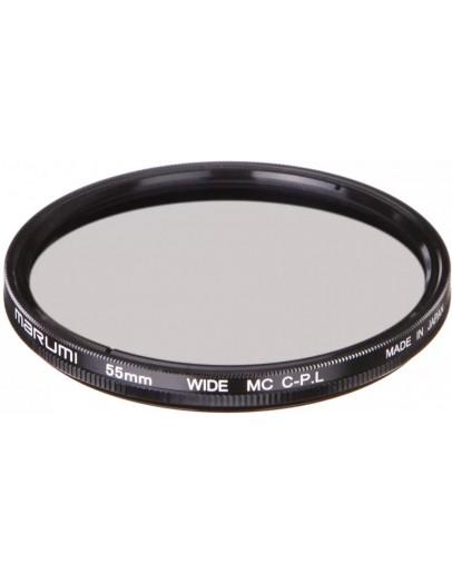 Фильтр Marumi WIDE MC-Circular PL, 55mm