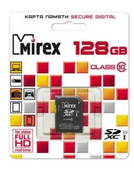Память MIREX SDXC 128Gb UHS-I (класс 10)