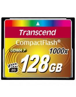 Память Transcend CompactFlash 128Gb 1000X