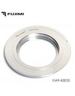 Переходник для объектива Fujimi FJAR-42EOS M42-EOS для Canon