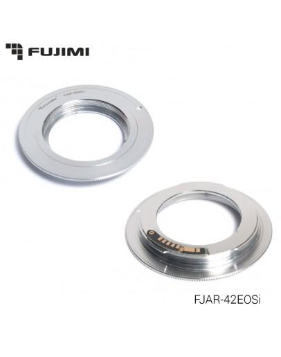 Переходник Fujimi FJAR-42EOSi с M42 на Canon EOS (Chip V2.0, поддержка 5D Mark III)