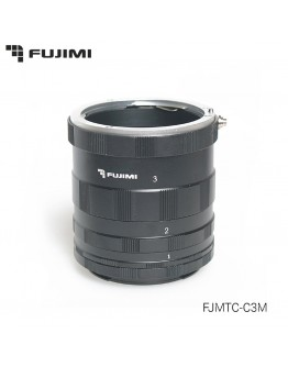 Набор удлинительных колец Fujimi FJMTC-C3M  для макросъёмки на систему EOS (ручная фокусировка)