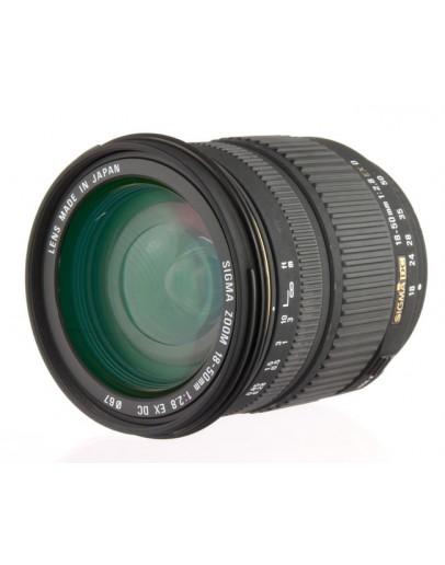 Объектив Sigma AF 18-50mm f/2.8 EX DC MACRO для Olympus