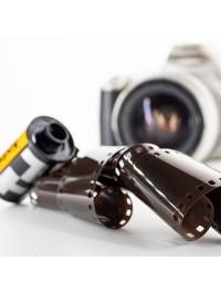Проявка и сканирование фотопленки