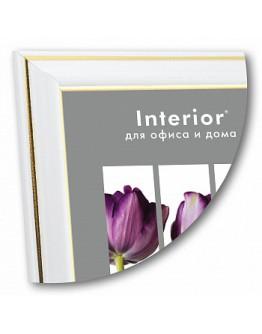 Фоторамка Interior Office 281/106, 10х15 см, пластик молоко