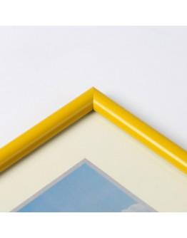 Фоторамка Фотолэнд 1302-30, 21х30 см, пластик желтый