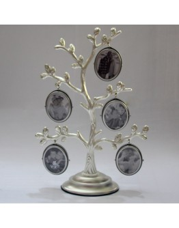 Мультирамка Remeco 555217, дерево на 5 фото 4х5 см, металл