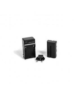Зарядное устройство+аккумулятор  NP-F750