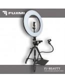 Комплект с кольцевой лампой для бьюти съемок Fujimi FJ-BEAUTY