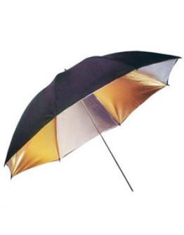 Зонт студийный Fujimi FJU563-33 комбинированный Серебро-Золото (84 см)