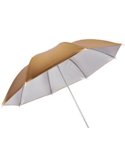 Зонт студийный Fujimi FJU564-33 переключаемый серебро-золото (84 см)